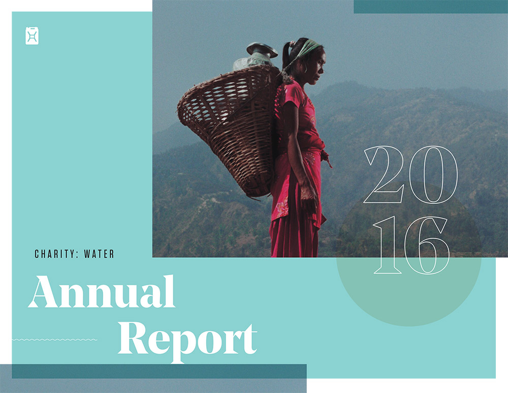Charity : Water Annual Report-2016