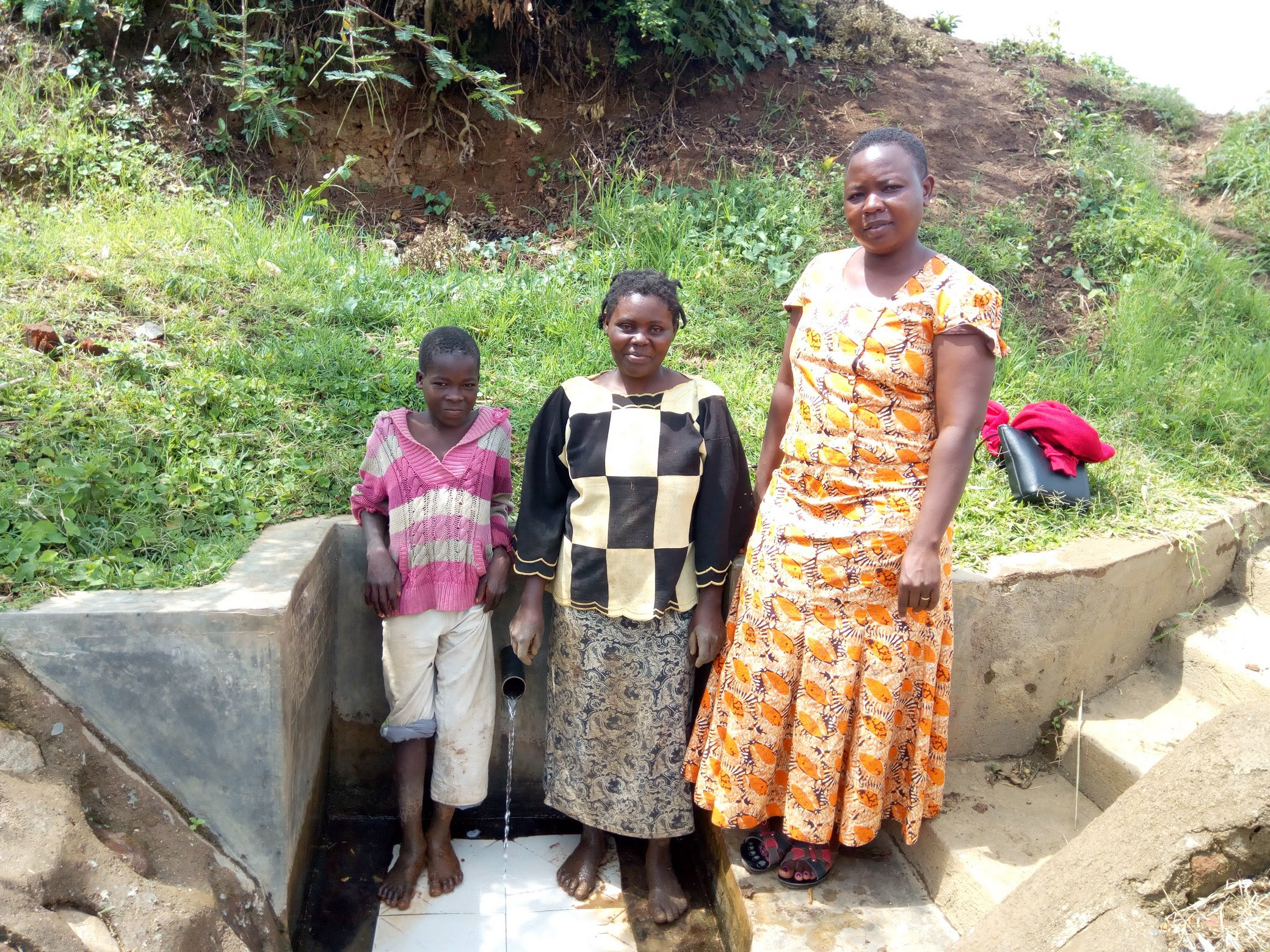 NEW update from the Water Project in Kenya - Abraham Spring for Shitoto Community!