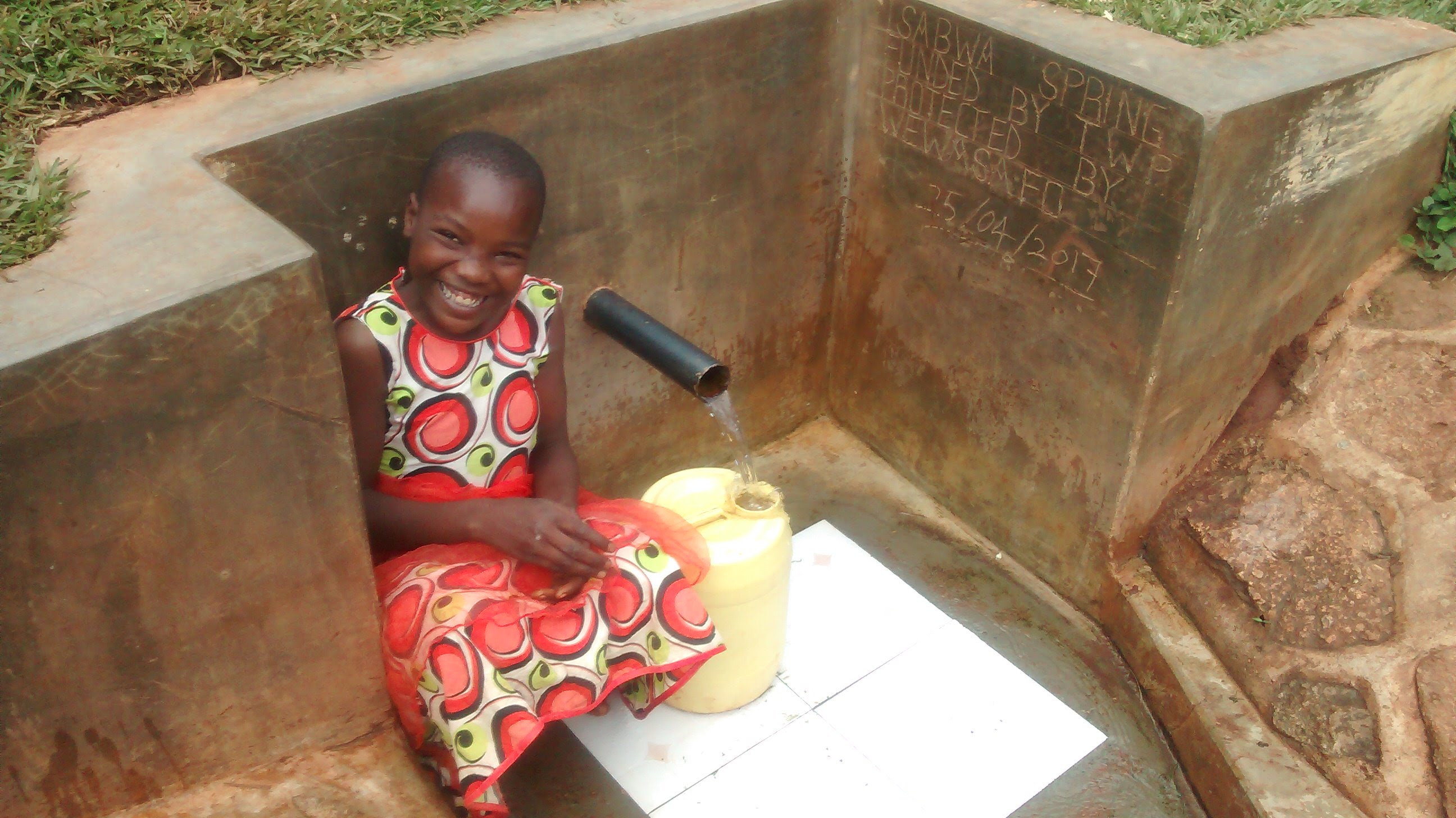 NEW update from your Water Project in Kenya - Isabwa Spring for Wamujila Community!