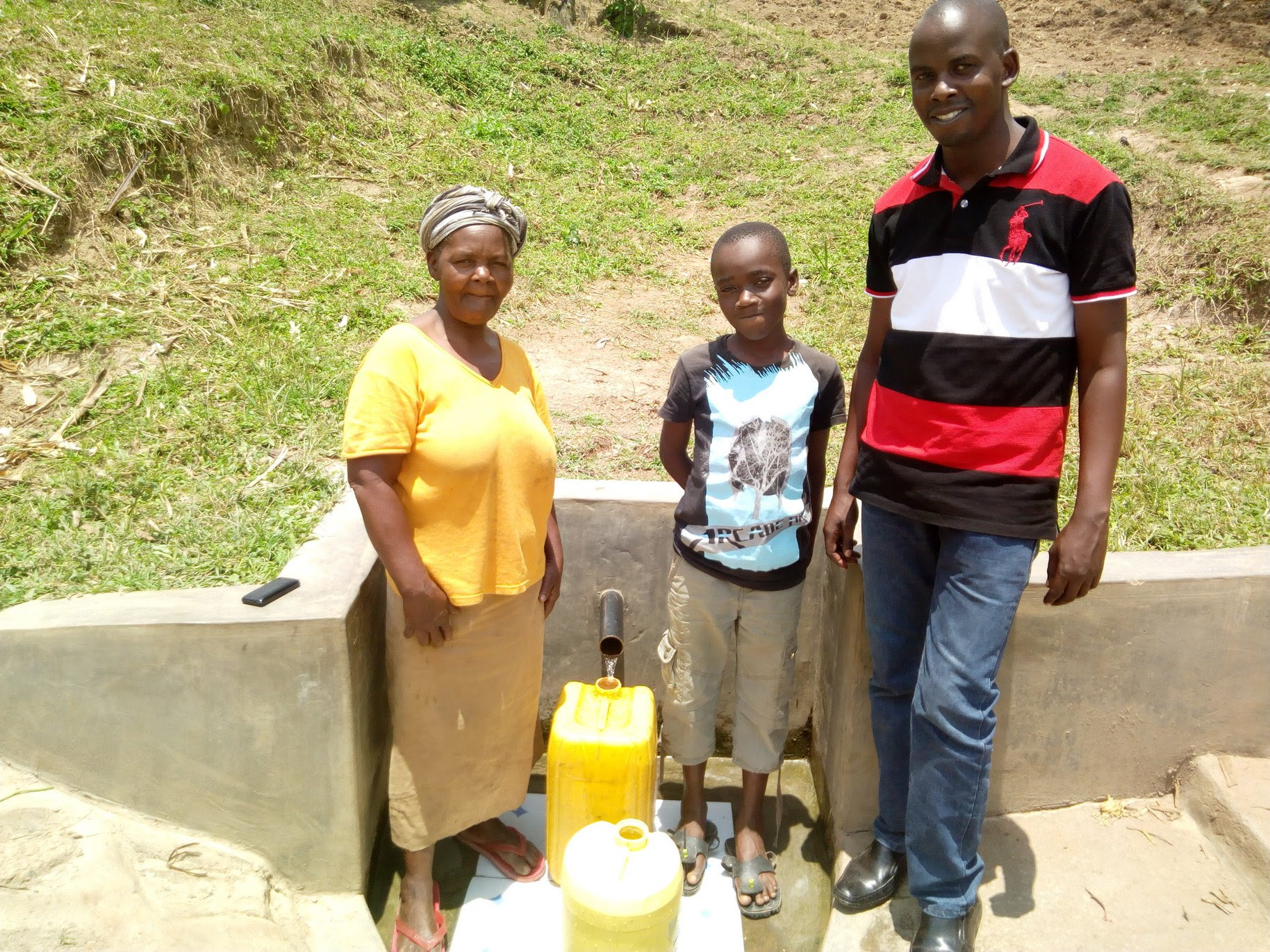 NEW update from the Water Project in Kenya – Handidi Community