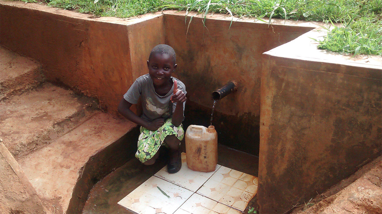 NEW update from your Water Project in Kenya - See how Nandansons Charitable Foundation helped!