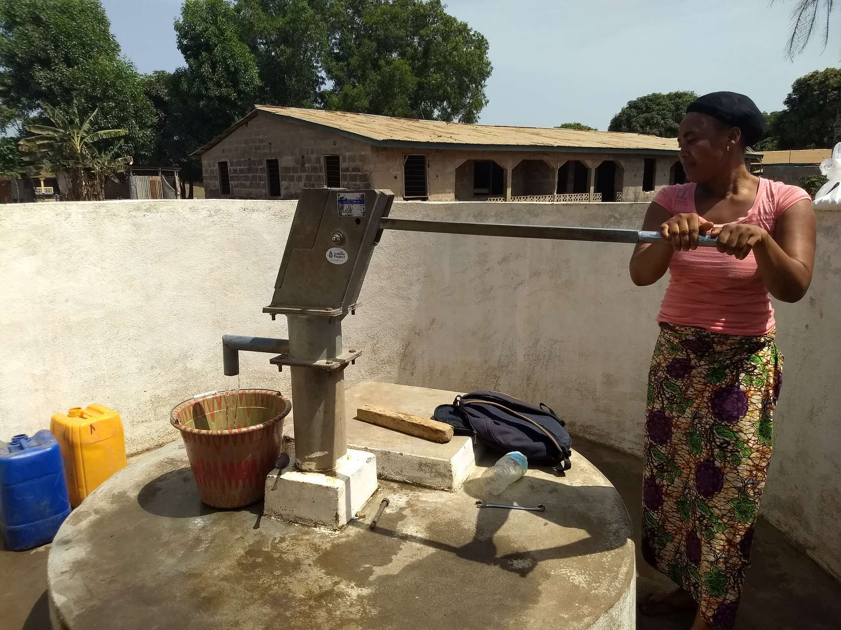 NEW update from the Water Project in Sierra Leone - See how Nandansons Charitable Foundation helped!