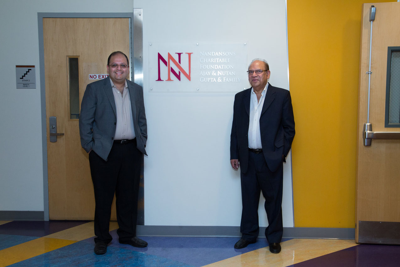 Nandansons Charitable Foundation partners with Robert Wood Johnson Hospital