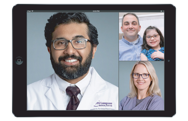Nandansons and NYU Langone Pediatric Virtual Urgent Care